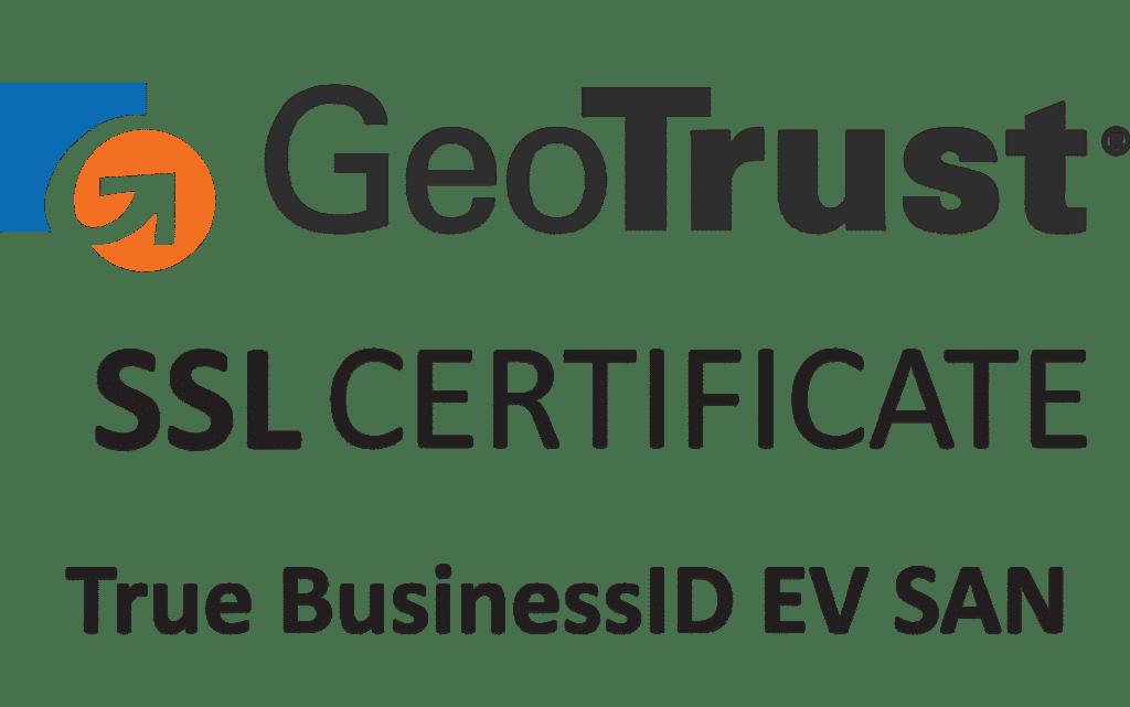 GeoTrust True BusinessID EV SAN