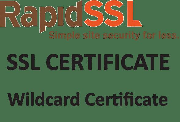 RapidSSL Wildcard Certificate