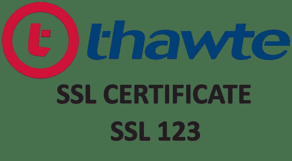 Thawte SSL 123