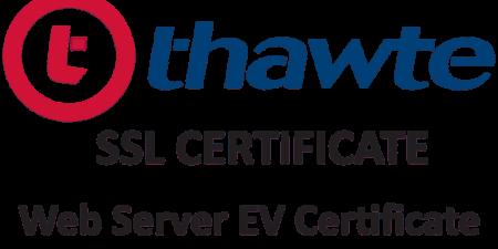 Thawte Web Server EV Certificate