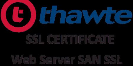 Thawte Web Server SAN SSL