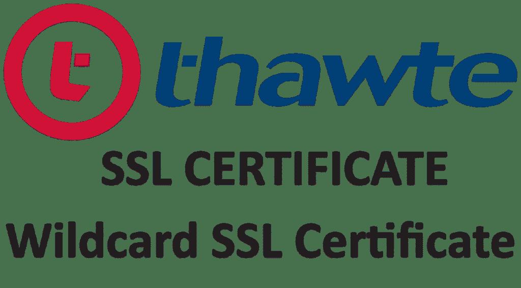 Thawte Wildcard SSL Certificate