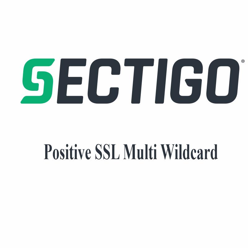 Positive SSL Multi Wildcard