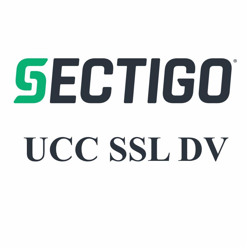 Sectigo UCC SSL DV